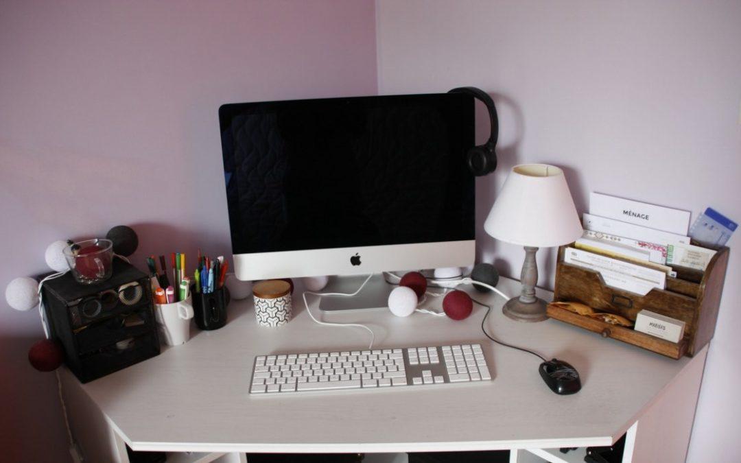 Mon bureau est toujours rangé !